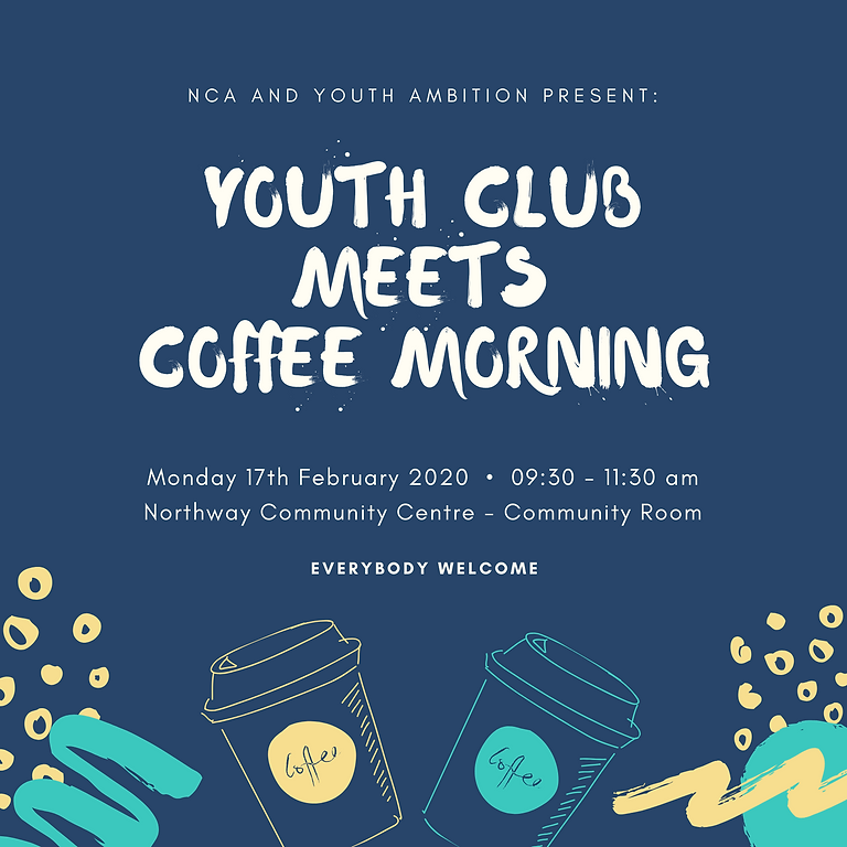 Youth Club meets Coffee Morning