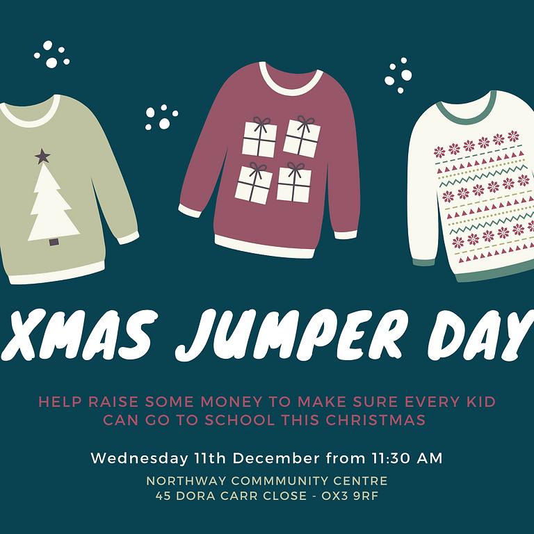 X-mas Jumper day fundraising