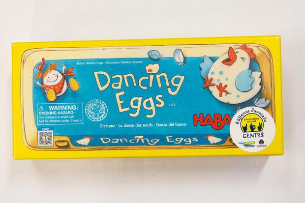 Dejojošās olas