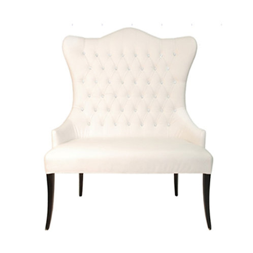 Marquis Chair - White Leather