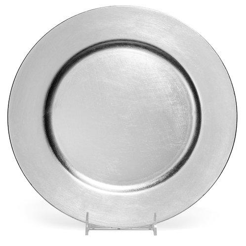 """Lacquer Silver 13"""" Rnd"""