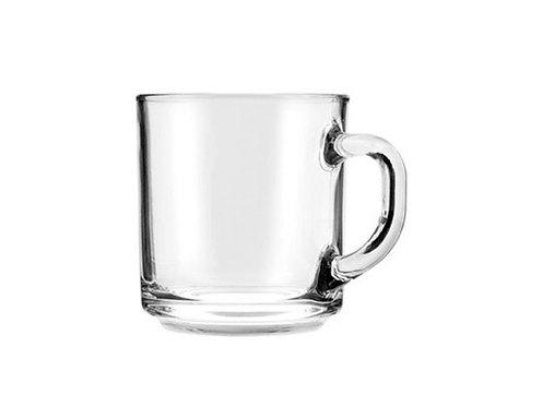 Short Clear Mug 10oz.