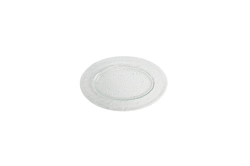 """Frosted Oval Platter 12"""" x 8"""""""