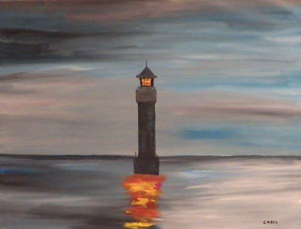 phare en hiver