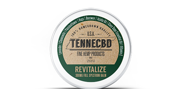 .25oz & 1.3oz - Revitalize Balm - TenneCBD