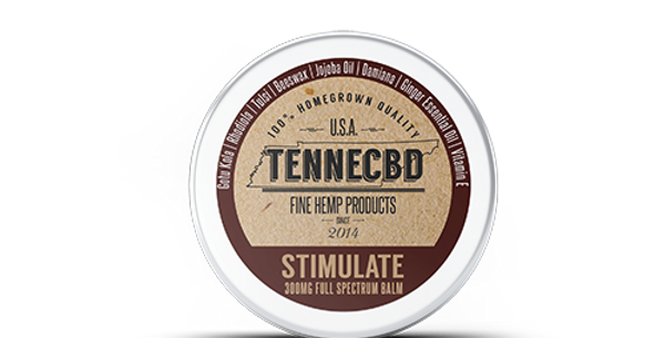 .25oz & 1.3oz - Stimulate Balm - TenneCBD