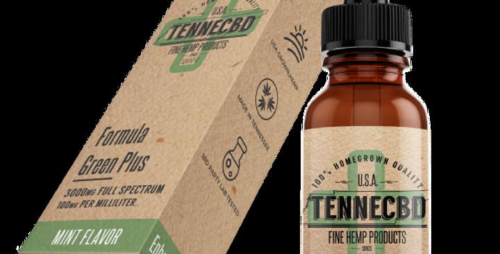 15ML & 30ML - Formula Green Plus - TenneCBD