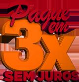 3x. SEM JUROS