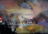 Ohne Titel, 2009, Öl auf Leinwand, 100 x 70 cm