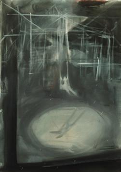 Ohne Titel, 2000, Öl auf Leinwand, 70 x 100 cm