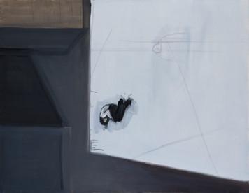 Ohne Titel, 2000, Öl auf Leinwand, 140 x 110 cm