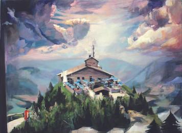 """""""Vier letzte Lieder"""", 2016, Öl auf Leinwand, 130 x 95 cm"""