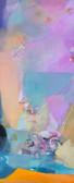 Ohne Titel, 2009, Öl auf Leinwand, 60 x 150 cm