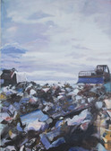 Ohne Titel, 2001, Öl auf Leinwand, 120 × 170 cm