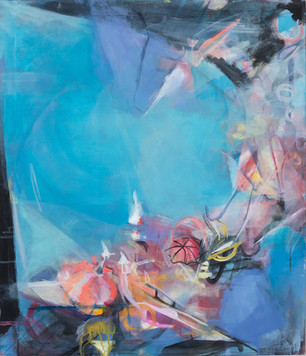 Ohne Titel, 2011, Öl auf Leinwand, 52 × 60 cm