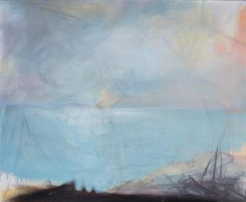 Ohne Titel, 2010, Öl auf Leinwand, 90 × 76 cm