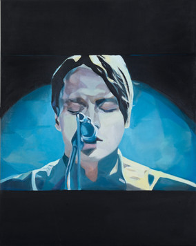 """Win"", 2011, Öl auf Leinwand, 120 x 150 cm"