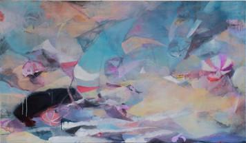 Ohne Titel, 2010, Öl auf Leinwand, 120 × 70 cm