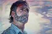 """""""Rick"""", 2021, Öl auf Leinwand, 90 × 60 cm"""