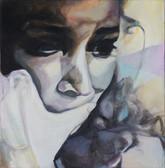 """Homeland III"", 2014, Öl auf Leinwand, 50 x 50 cm"