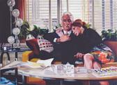 """""""Like Lovers Do IV"""", 2018, Öl auf Leinwand, 130 x 90 cm"""