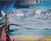 """""""Bridge"""", 2013, Öl auf Leinwand, 43 x 34 cm"""