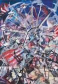 Ohne Titel, 2003, Öl auf Leinwand, 90 × 130 cm