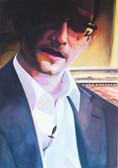 """""""Wanted!"""", 2014, Öl auf Leinwand, 70 × 110 cm"""