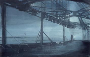 Ohne Titel, 2000, Öl auf Leinwand, 110 x 100 cm