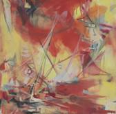Ohne Titel, 2005, Öl auf Leinwand, 50 x 50 cm