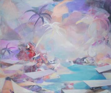 Ohne Titel, 2011, Öl auf Leinwand, 180 x 150 cm