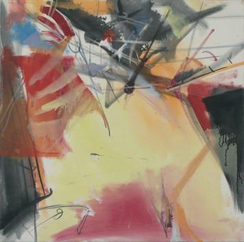 Ohne Titel, 2005, Öl auf Leinwand, 70 x 70 cm