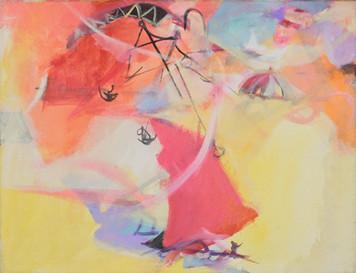 Ohne Titel, 2009, Öl auf Leinwand, 43 x 34 cm