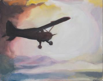 Ohne Titel, 2012, Öl auf Leinwand, 43 × 34 cm