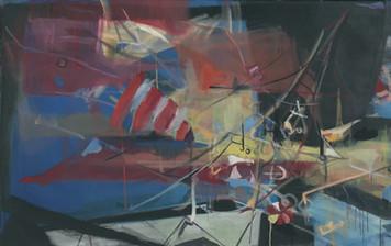 Ohne Titel, 2005, Öl auf Leinwand, 120 x 70 cm