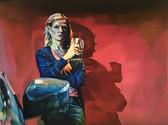 """""""Heroes"""", 2020, Öl auf Leinwand, 160 × 120 cm"""