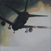 """Homeland I"", 2014, Öl auf Leinwand, 50 x 50 cm"