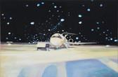 """Snow"", 2013, Öl auf Leinwand, 75 x 50 cm"