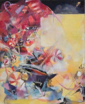 Ohne Titel, 2009, Öl auf Leinwand, 140 × 170 cm