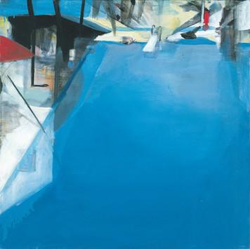 Ohne Titel, 2001, Öl auf Leinwand, 67 x 67 cm