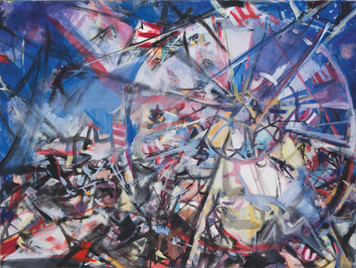Ohne Titel, 2003Ohne Titel, Öl auf Leinwand, 135 × 100 cm