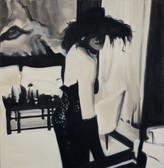 Ohne Titel, 2000, Öl auf Leinwand, 160 x 160 cm