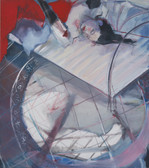 Ohne Titel, 2001, Öl auf Leinwand, 150 × 170 cm