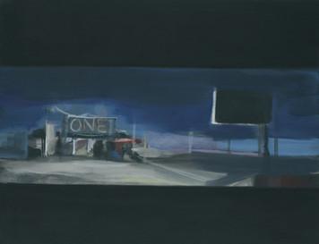 Ohne Titel, 2001, Öl auf Leinwand, 95 x 72 cm
