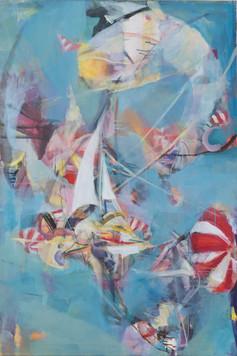 Ohne Titel, 2005, Öl auf Leinwand, 80 × 120 cm