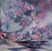 Ohne Titel, 2009, Öl auf Leinwand, 150 x 150 cm