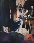 """In Your Room"", 2019, Öl auf Leinwand, 95 x 120 cm"