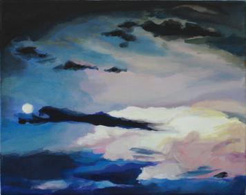 """Justine"", 2014, Öl auf Leinwand, 43 x 34 cm"