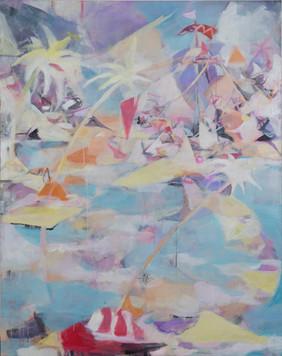 Ohne Titel, 2011, Öl auf Leinwand, 120 x 150 cm