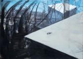 Ohne Titel, 2000, Öl auf Leinwand, 250 x 200 cm